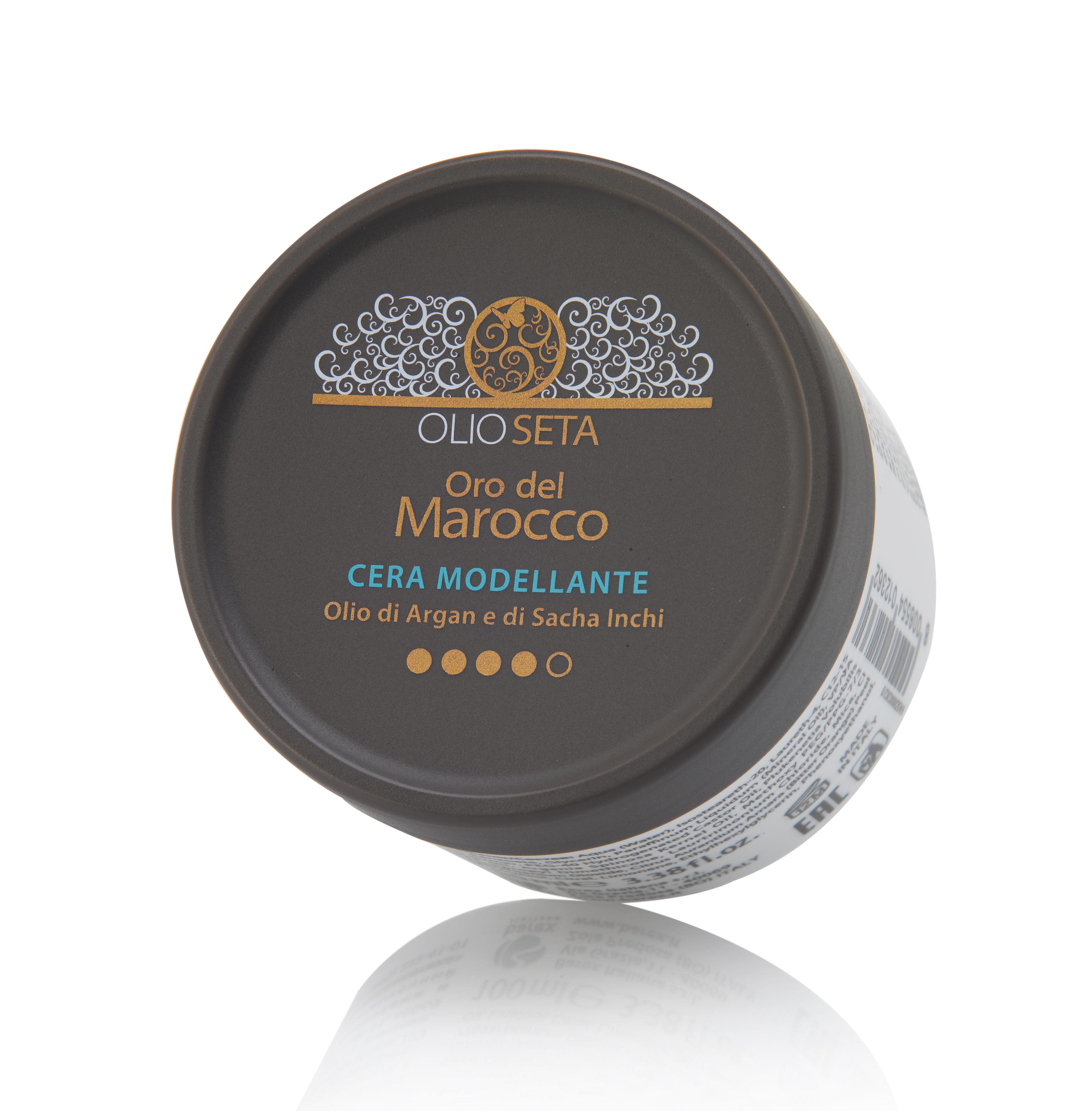 BAREX Воск моделирующий / OLIOSETA ORO DEL MOROCCO Cera Modellante Olio di Argan e di Sacha Inchi 100мл масло для волос morocco argan oil morocco argan oil mo046lwfcj21
