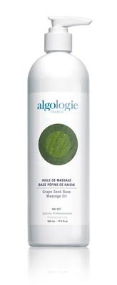 ALGOLOGIE Масло массажное на основе виноградных