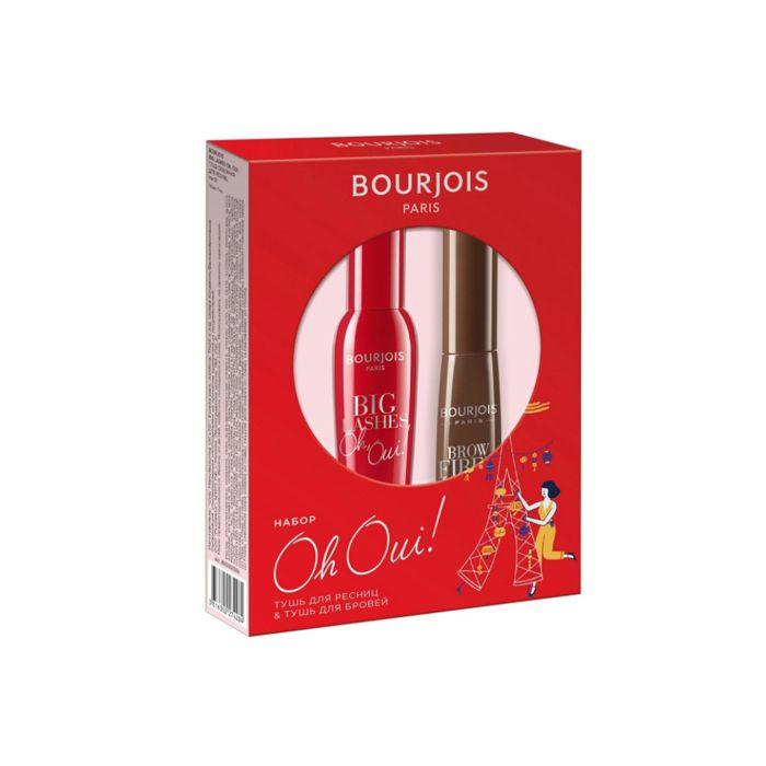 Купить BOURJOIS Набор подарочный тушь для ресниц Big Lashes и тушь для бровей Brow Fiber