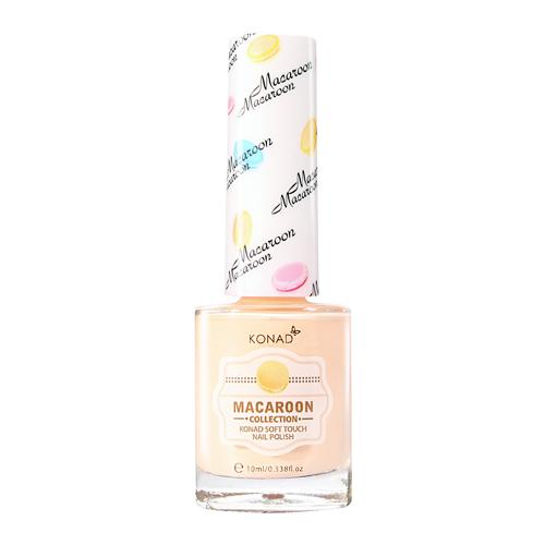 KONAD Лак для ногтей матовый Nail 03 - Vanilla Macaroon / Soft Touch 10мл konad лак для ногтей матовый nail 06 peach macaroon soft touch 10мл