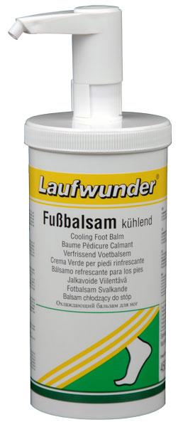 LAUFWUNDER Бальзам освежающий для ног, с дозатором 450 мл