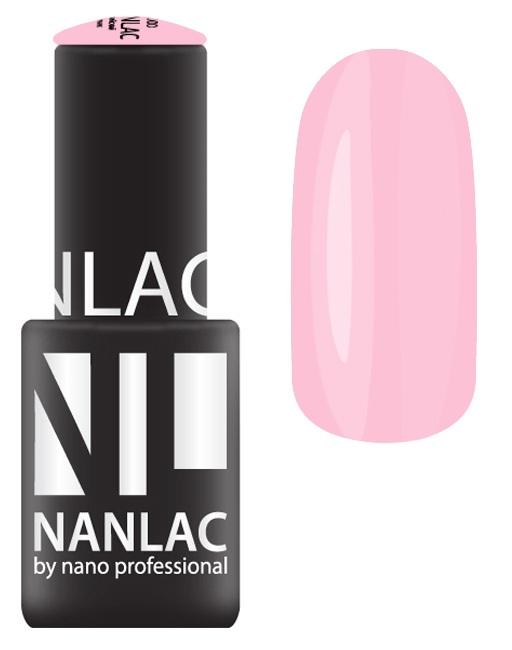 NANO PROFESSIONAL 2156 гель-лак для ногтей, розовая пантера / NANLAC 6 мл