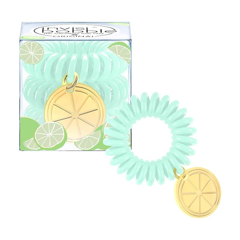 INVISIBOBBLE Резинка-браслет для волос / TUTTI FRUTTI Lime Time -  Резинки