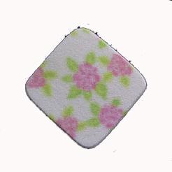 ZINGER Спонж прямоугольный / vv-PUF-610Спонжи<br>Спонж для нанесения макияжа квадратной формы с рисунком. Материал: латекс.<br>