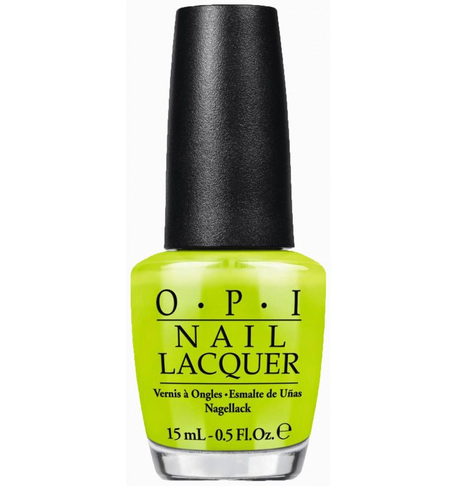 OPI Лак для ногтей Life Gave Me Lemons / NEON 15млЛаки<br>Лак для ногтей Жизнь дала мне лимоны - этот цитрусовый лимонно-лаймовый каждый раз приходится по вкусу! (текстура неон).  Насыщенный, долговечный, блестящий цвет. OPI - это знаменитые оттенки, которые никогда не выйдут из моды:   - быстрое нанесение в два слоя: эксклюзивная кисть ProWide для гладкого ровного покрытия;  - долговечный цвет: устойчивое к сколам покрытие, стойкий блеск;  - восхитительные коллекции: новые актуальные оттенки выпускаются 7 раз в год;  - инновационные текстуры и покрытия: шаттер, жидкий песок и другие, OPI следит за развитием технологий;  - легендарные названия оттенков: самые обсуждаемые названия лаков в мире.  Способ применение: Нанесите на ногти 1-2 слоя цветного лака после нанесения базового покрытия, для неоновых и ярких лаков желательно использовать специальное базовое покрытие Put a Coat On!. Для придания прочности и создания блеска затем рекомендуется использовать верхнее покрытие.<br><br>Цвет: Желтые<br>Виды лака: Глянцевые
