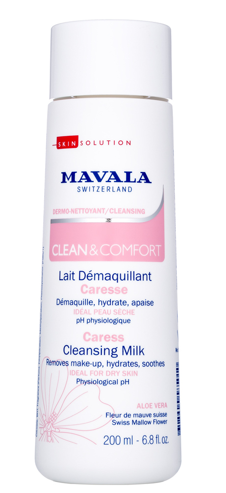 MAVALA Молочко очищающее для деликатного ухода / Clean & Comfort Careless Cleansing Milk 200 мл