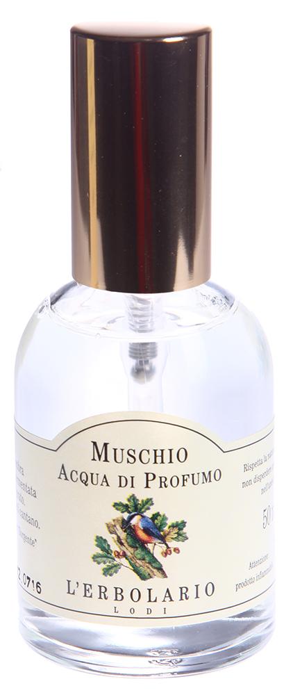 LERBOLARIO Вода парфюмированная Мускус 50 мл