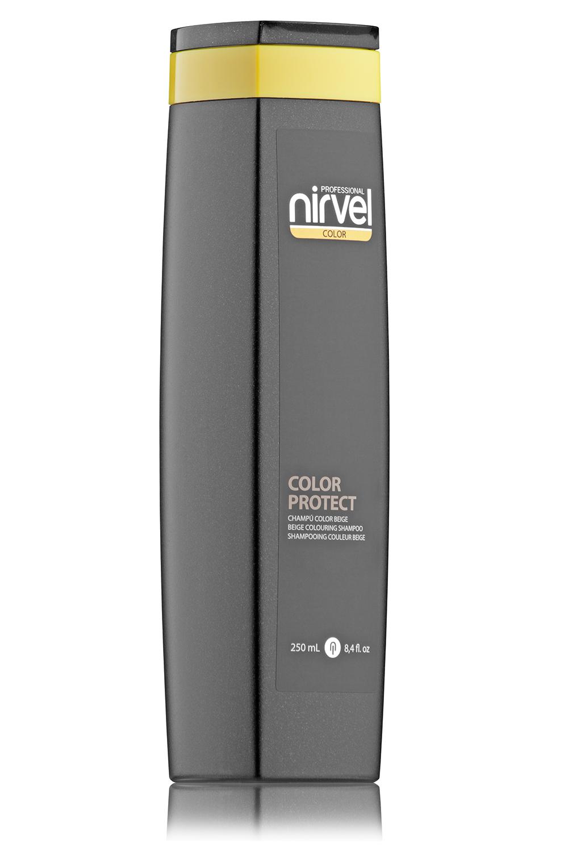 Купить NIRVEL PROFESSIONAL Шампунь оттеночный, бежевый / COLOR PROTECT COLOURING BEIGE 250 мл