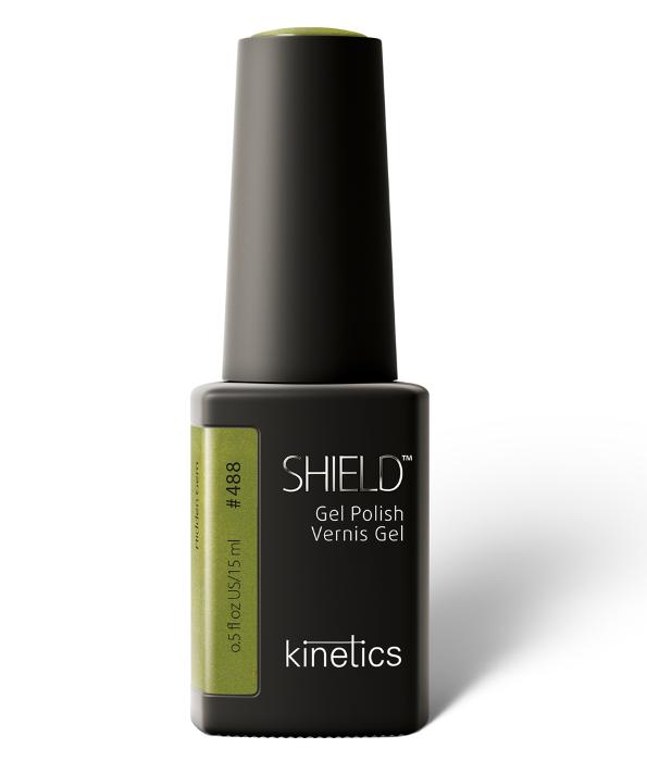 Купить KINETICS 488N гель-лак для ногтей / SHIELD Blank Space 15 мл, Зеленые