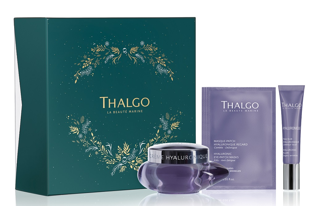 Купить THALGO Набор Гиалуроновый для лица (крем 50 мл, карандаш 15 мл, маски-патчи 3 х 2 шт) Hyaluronic Established Wrinkles Gift set