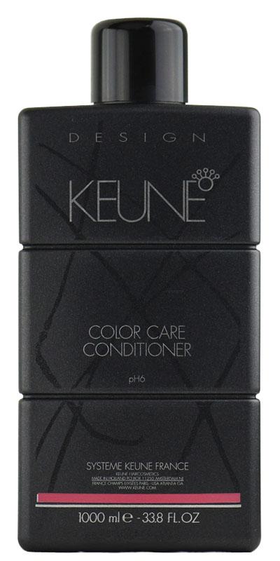 KEUNE Кондиционер Стойкий цвет / COLOR CARE CONDITIONER 1000млКондиционеры<br>Рекомендован для поддержания стойкого результата окрашивания и прекрасного блеска. Сохранит глубину цвета в домашних условиях. Активный состав: Соламер, экстракт семян подсолнечника, протеины морского шелка. Применение: Нанесите небольшое количество кондиционера на волосы. После нанесения оставьте его на волосах на 2-3 минуты, после чего кондиционер можно смывать.<br><br>Объем: 1000<br>Вид средства для волос: Стойкая<br>Типы волос: Окрашенные