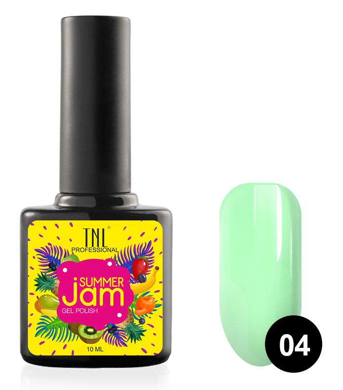 Купить TNL PROFESSIONAL 04 гель-лак для ногтей, неоновый светло-зеленый / Summer Jam 10 мл, Зеленые