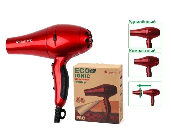 HAIRWAY Фен HW Eco Ionic 2200W