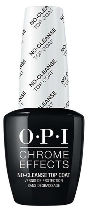 Купить OPI Топ закрепляющий для ногтей / Chrome Effects No Cleanse Top Coat 15 мл