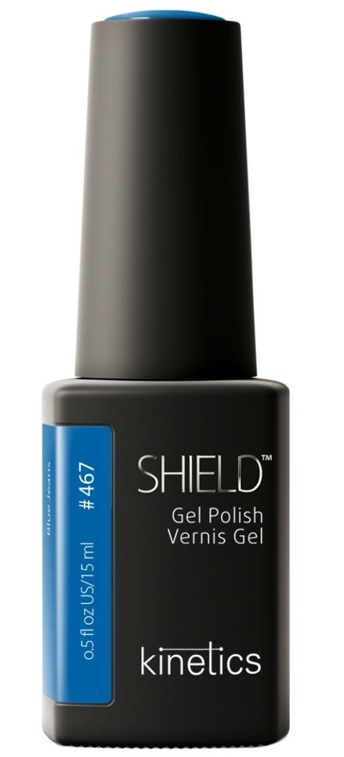 Купить KINETICS 467N гель-лак для ногтей / SHIELD Guiltless 15 мл, Синие