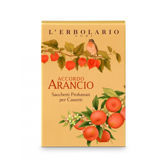 LERBOLARIO Саше ароматизированное для комода Апельсин