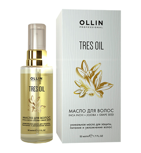 OLLIN PROFESSIONAL Масло для волос / TRES OIL 50мл -  Масла