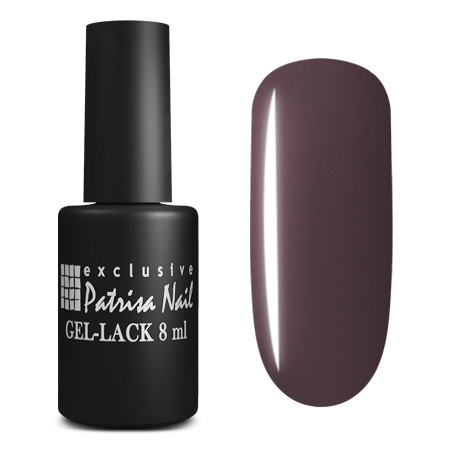 Купить PATRISA NAIL 182 гель-лак для ногтей, глубокие темные оттенки / Axios Gel 8 мл