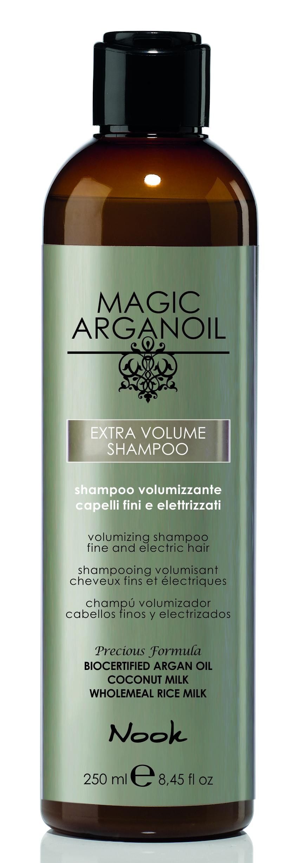 NOOK Шампунь для придания объема тонким и наэлектризованным волосам / Extra Volume Shampoo MAGIC ARGANOIL 250 мл.
