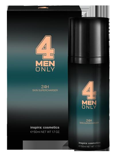 Купить INSPIRA COSMETICS Крем укрепляющий легкий 24-часового действия для лица / 4 Men Only 50 мл