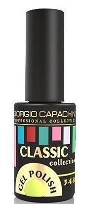 Купить GIORGIO CAPACHINI 348 гель-лак трехфазный для ногтей / Classic 7 мл, Желтые
