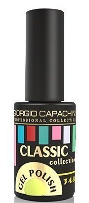GIORGIO CAPACHINI 348 гель-лак трехфазный для ногтей / Classic 7 мл.