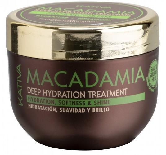 Купить KATIVA Уход интенсивный увлажняющий для волос / MACADAMIA 500 мл