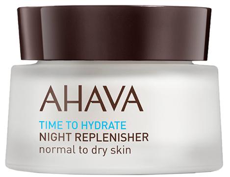AHAVA Крем восстанавливающий ночной для нормальной и сухой кожи / Time To Hydrate 50 мл -  Кремы