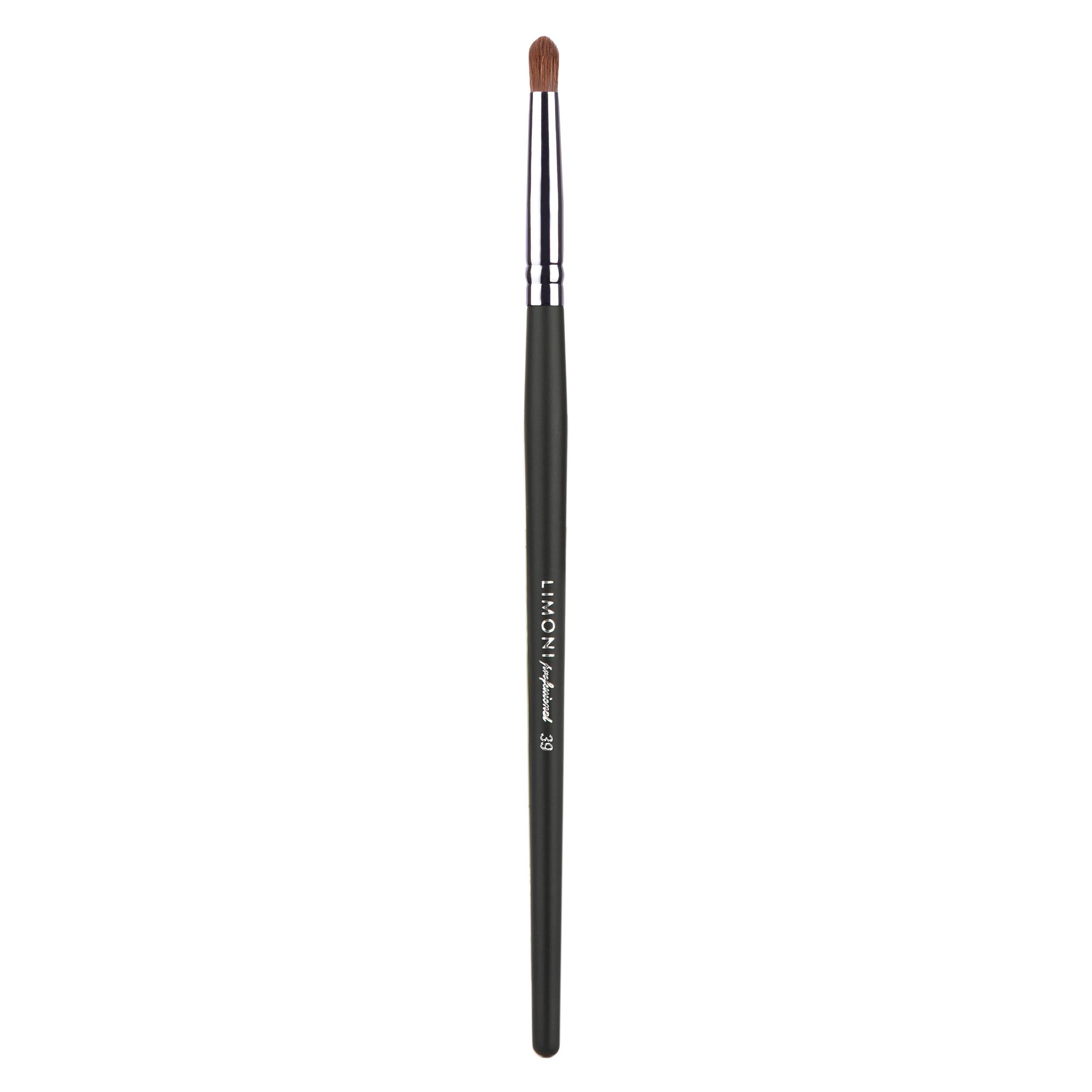 LIMONI Кисть-карандаш для растушевки подводки, контура №39 (соболь) / Professional