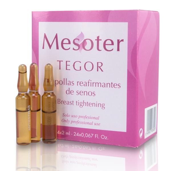 TEGOR Концентрат способствующий укреплению кожи в области декольте / Breast Tightening Аmpoules 24*2мл