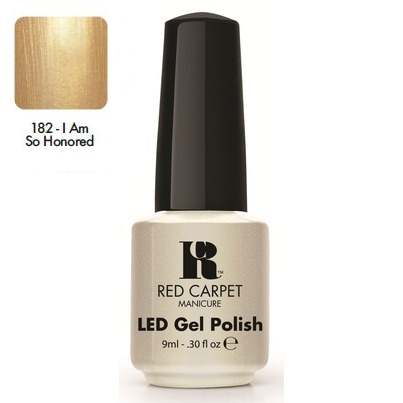 "RED CARPET 182 ����-��� ��� ������ ""I am so Honored"" / LED Gel Polish 9��~"