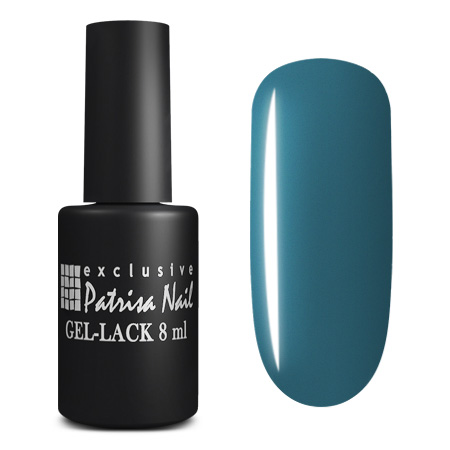 Купить PATRISA NAIL 162 гель-лак для ногтей, синяя тональность / Axios Gel 8 мл, Синие
