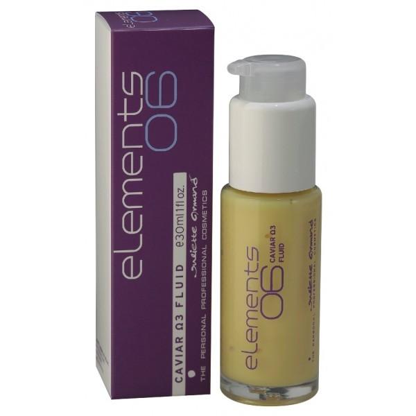 JULIETTE ARMAND Флюид на основе икры и омега3 / CAVIAR omega3 FLUID 30млФлюиды<br>Рекомендуется для интенсивного омоложения в рамках ежедневного ухода. Новаторский препарат нежной кремовой текстуры, обладающий мощным эффектом   предотвращает старение кожи и восстанавливает ее упругость. Флюид обеспечивает коже упругость, гладкость, сияние, уменьшение проявления морщин. Tagravit F1 - вытяжка икры в микрокапсулах (омега-3,-6), продукт современных биотехнологий. Обладает ценнейшим свойством, не подвергаясь никаким изменениям, полностью сохраняться в косметической продукции и действовать непосредственно в момент контакта с кожей, что обеспечивает максимальный эффект. Активные ингредиенты: экстракт красной и черной икры, комплекс водорослей, Tagravit F1. Состав: Aqua, Cetearyl Isononanoate, Peg-100 Stearate, Glyceryl Stearate, Butylene Glycol, Cetearyl Alcohol, Peg-20 Stearate, Cetearyl Ethylhexanoate, Isopropyl Myristate, Caprylic/Capric Triglyceride, Chamomilla Recutita Flower Extract, Butyrospermum Parkii Butter Extract, Salmo Ovum Extract, Cocos Nucifera (Coconut) Oil, Pisces Extract, Algae Extract, Alcohol, Peg-40 Hydrogenated Castor Oil, Tocophero, Vitis Vinifera (Gpape) Seed Extract, Phenoxyethanol, Caprylyl Glycol, Cyclopentasiloxane, Linoleic Acid, Linolenic Acid, Polymethylmetacrylate, Parfum, Imidazolidinyl Urea, Aloe Barbadensis Leaf Extract, Ethylhexylglycerin, Sodium Hyaluronate, Ci 19140, Ci 16185. Способ применения: флюид наносится на очищенную кожу утром-вечером. Можно в комплексе с кремом.<br><br>Объем: 30 мл<br>Назначение: Морщины<br>Время применения: Ежедневный