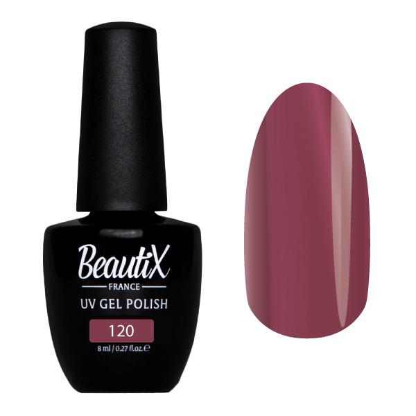 Купить BEAUTIX 120 гель-лак для ногтей 8 мл, Фиолетовые
