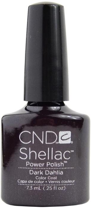 CND 056А покрытие гелевое / Dark Dahila SHELLAC 7,3 мл - Гель-лаки