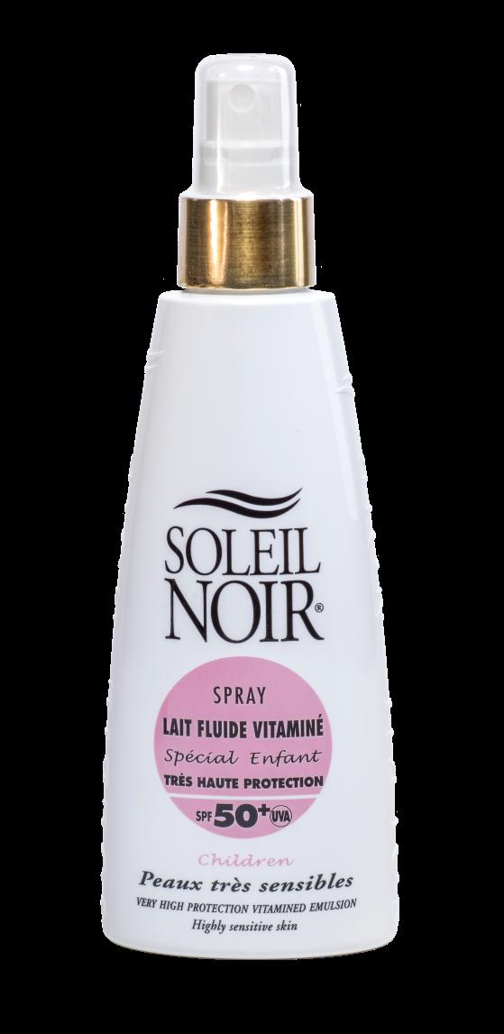 SOLEIL NOIR Молочко спрей специально для детей Высокая степень защиты SPF50+ / LAIT FLUIDE SPESIAL 150мл