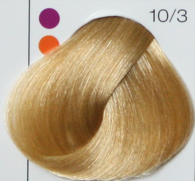 LONDA PROFESSIONAL 10/3 Краска для волос LC NEW инт.тонирование яркий блонд золотистый, 60мл