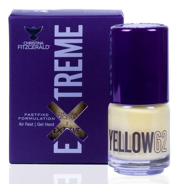 Купить CHRISTINA FITZGERALD Лак для ногтей 62 / YELLOW EXTREME 15 мл, Желтые