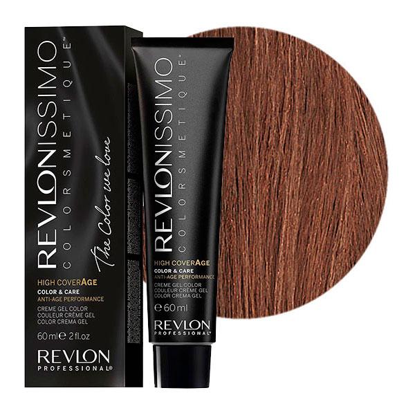 Купить REVLON Professional 6-12 краска для волос, снежный темный блондин / RP REVLONISSIMO COLORSMETIQUE High Coverage 60 мл
