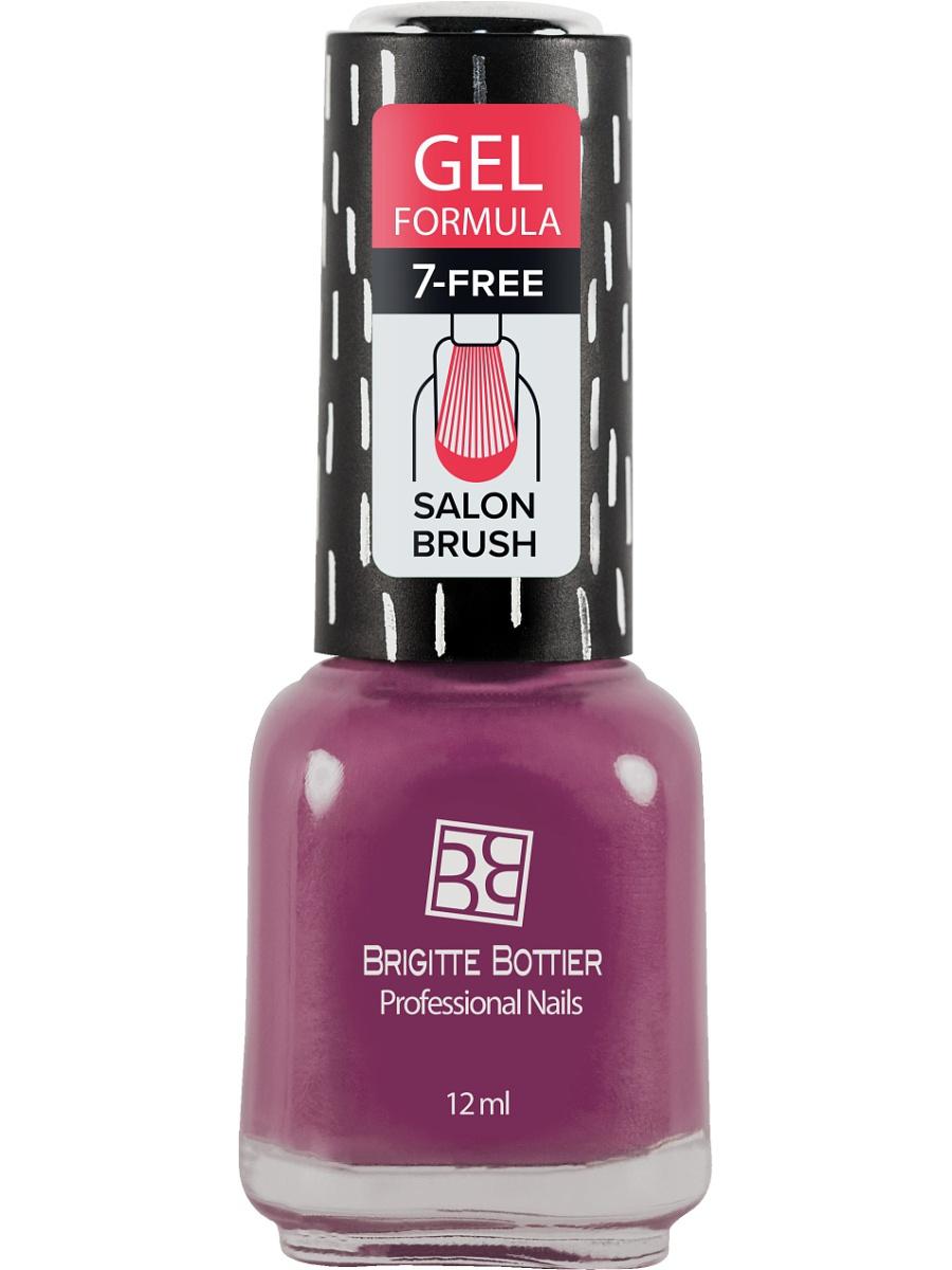 BRIGITTE BOTTIER 74 лак для ногтей гелевый, марсала светлый / GEL FORMULA 12 мл лаки для ногтей isadora лак для ногтей гелевый gel nail lacquer 247 6 мл