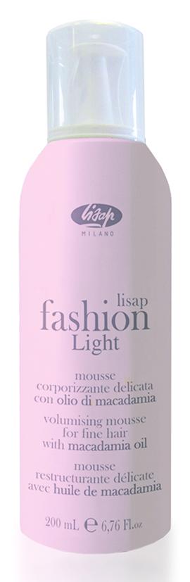 LISAP MILANO Мусс для придания объема и блеска волосам / Volumizing Mousse FASHION LIGHT 200 мл