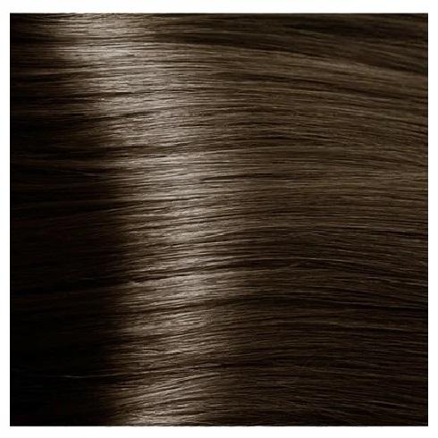 KAPOUS NA 6.11 краска для волос, темный блондин интенсивный пепельный / Magic Keratin 100 мл