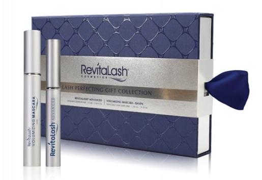 REVITALASH Бокс подарочный синий (усилитель роста ресниц 3,5мл + тушь черная 7,39мл) / RevitaLash