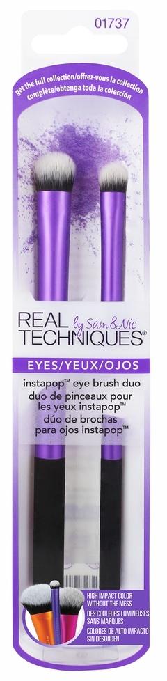 Купить REAL TECHNIQUES Набор кистей для макияжа глаз / Instapop Eye Brush Duo