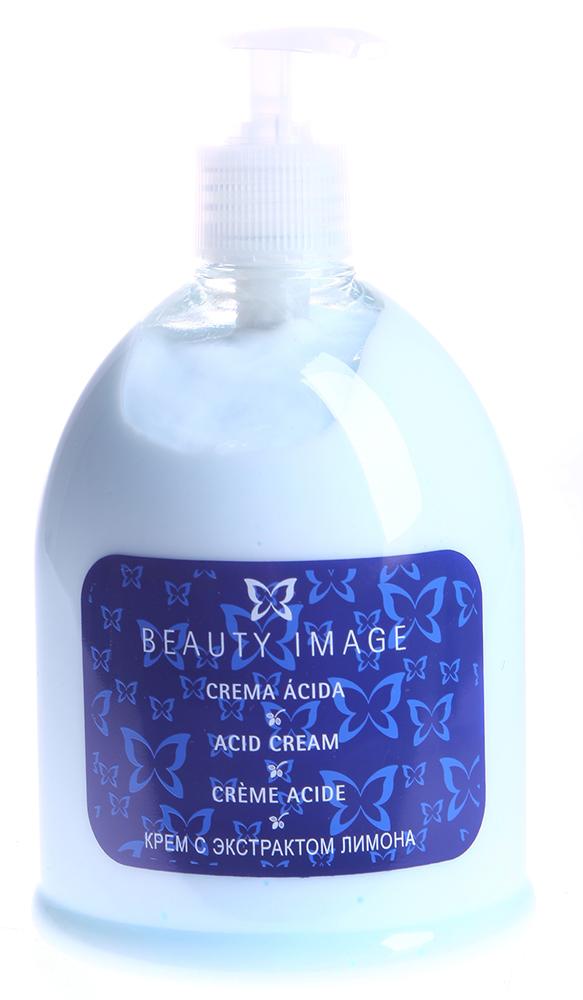 BEAUTY IMAGE Крем с экстрактом лимона 500грКремы<br>Нежный нежирный крем с приятным цитрусовым ароматом снимает красноту, раздражение, интенсивно увлажняет, питает и тонизирует кожу. Крем легко впитывается, моментально приносит приятное ощущение свежести и легкости. Возможно использование крема, как в процедуре парафинотерапии, так и после депиляции теплым воском.  Применение: Нанесите на кожу небольшое кол-во препарата и легкими массажными движениями полностью впитайте.<br><br>Объем: 500