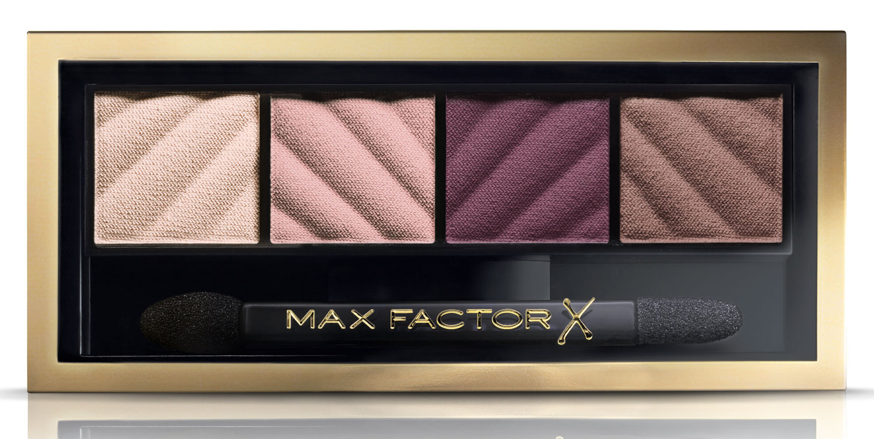 MAX FACTOR Тени для век и пудра для бровей 20 / Smokey Eye Matte Drama Kit rich roses