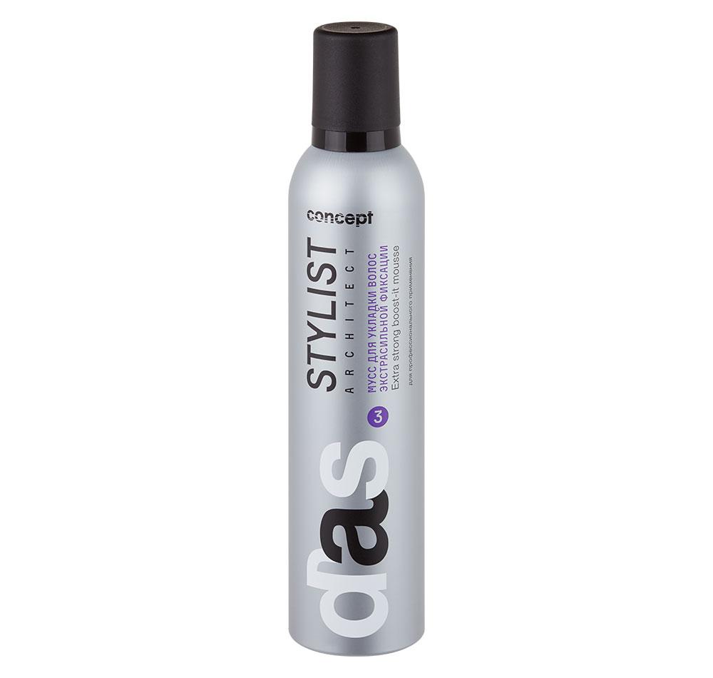 Купить CONCEPT Мусс экстрасильной фиксации для укладки волос / Stylist architect 300 мл