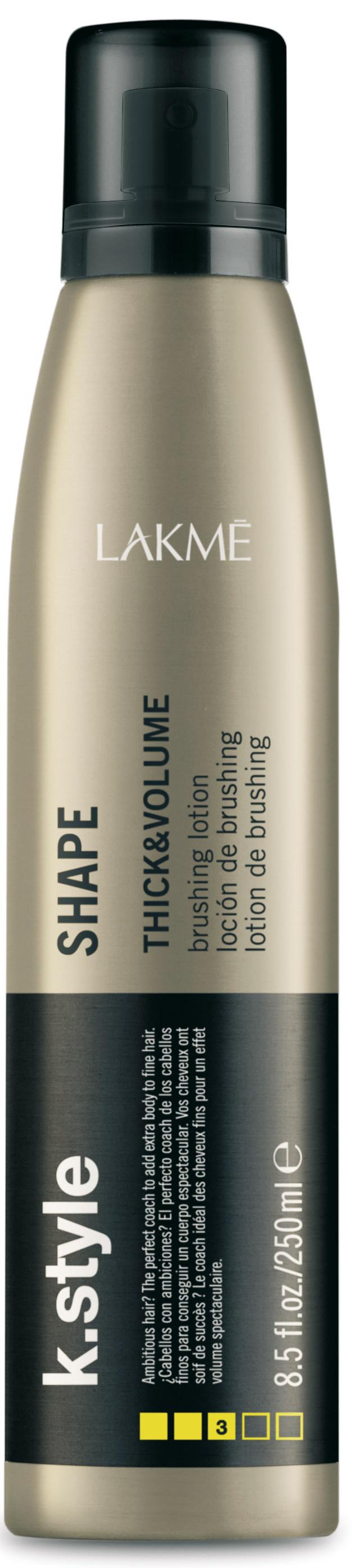 Купить LAKME Лосьон для укладки волос, придающий объем / SHAPE 250 мл