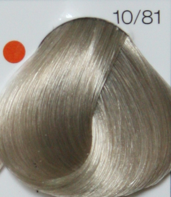 LONDA PROFESSIONAL 10/81 Краска для волос LC NEW инт.тонирование яркий блонд перламутрово-пепельный, 60мл