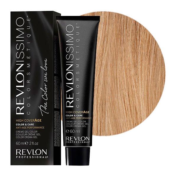 REVLON Professional 9 краска для волос / RP REVLONISSIMO COLORSMETIQUE High Coverage 60 мл revlon краситель перманентный 7 44 блондин гипер медный rp revlonissimo colorsmetique 60 мл